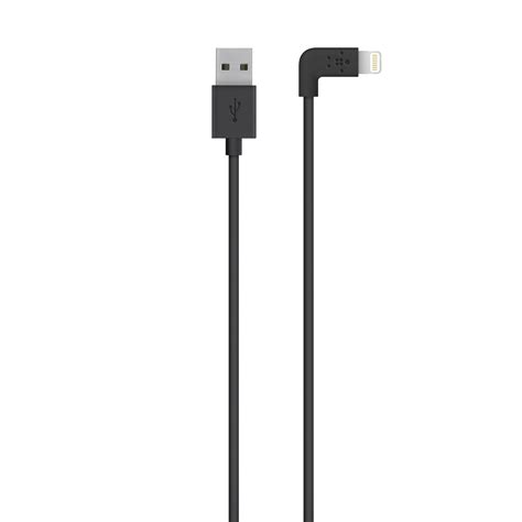 0 2m Usb Cable Green belkin apple certified mixit 4 foot 90 degree