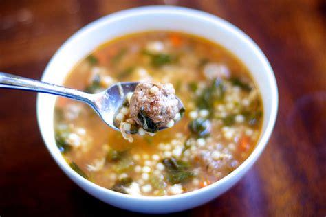 italian soup italian wedding soup recipe dishmaps