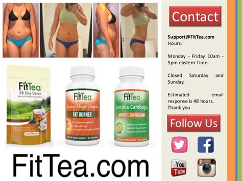 28 Detox Tea Fit Recipe by Fit Tea