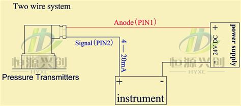 pressure transducer connection diagram free