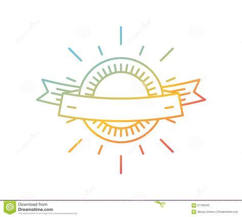 logo templates vector vector linear logo template abstract arrow shape stock