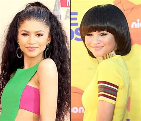hair style kc undercover zendaya coleman says changing hairstyles are just wigs