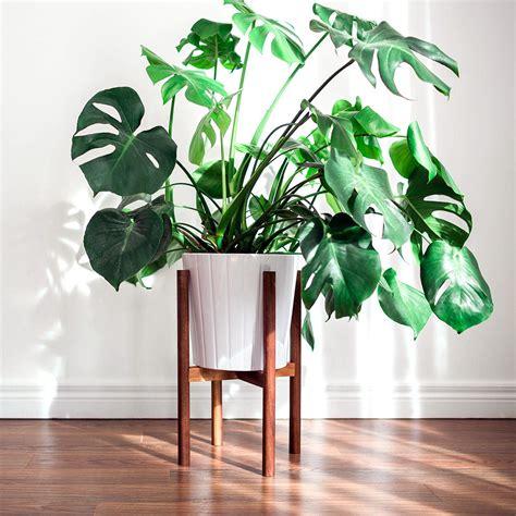 mid century modern plant stand hookandstem ahalife