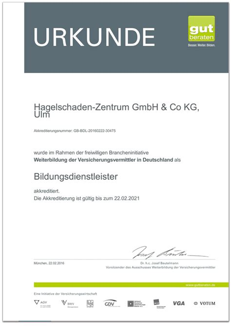 Autofolierung Zertifikat by Knu Karisma Neu Ulm Zertifikate Urkunde Gut Beraten