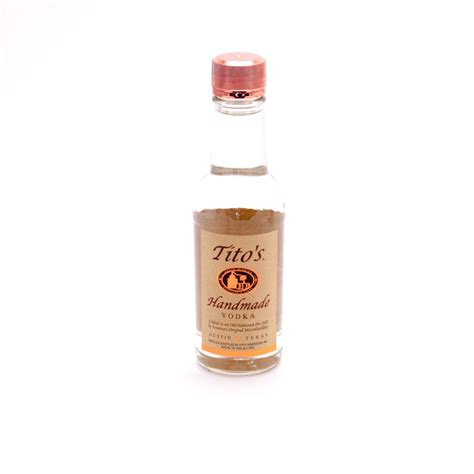 Tito Handmade Vodka - tito s handmade vodka 80 proof 200ml wine and