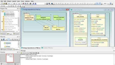 database diagram software umodel uml modeling tool