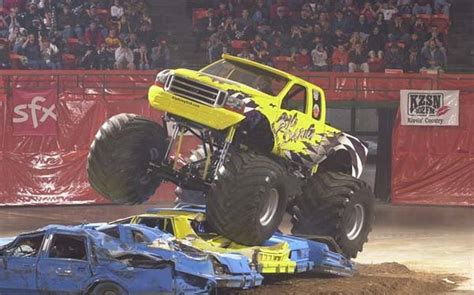 monster truck show wichita ks on stage at the kansas coliseum the wichita eagle the