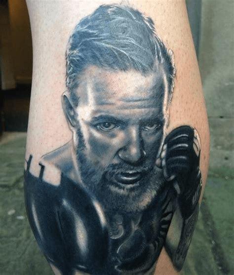 mcgregor face tattoo diehard fan shows off his fresh conor mcgregor tattoo
