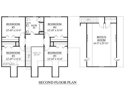 Houseplans Llc Houseplans Biz House Plan 2341 C The Montgomery C