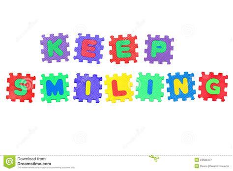 Keep Smiling White keep smiling royalty free stock photography image 34508497