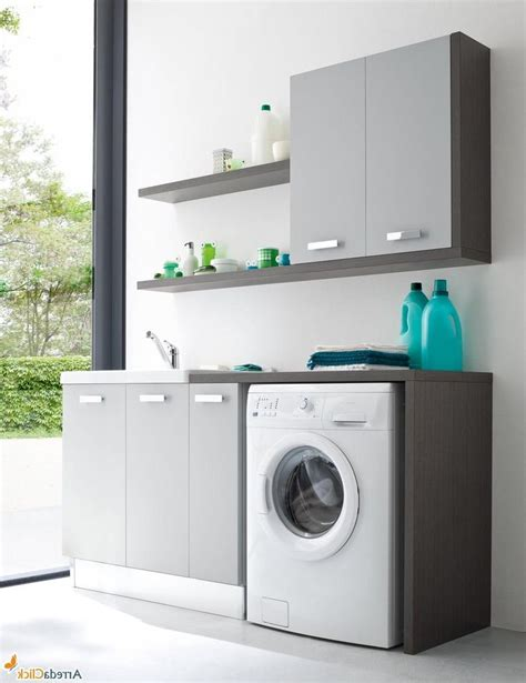 stylish laundry room decoration ideas with small