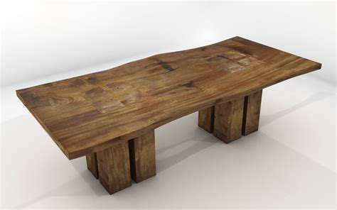 Vela Dining Table   Sustainable Solid Wood Dining Room Furniture   JH2 one tree home   Handmade