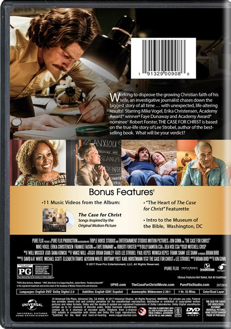 the case for christ top documentary films the case for christ movie page dvd blu ray digital