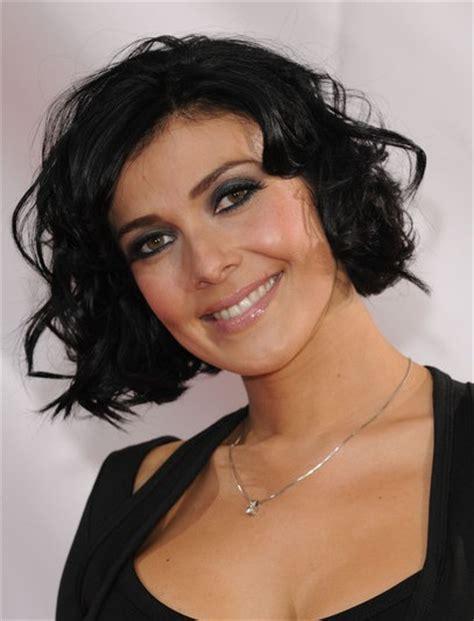 black hairstyles wavy hair kym marsh black short hairstyles for curly hair popular