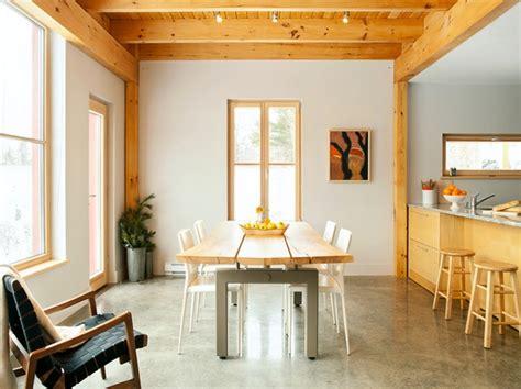 kursi  meja kayu  dapur rancangan desain rumah