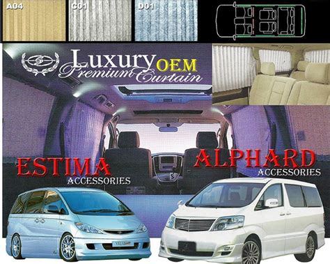 car curtain malaysia toyota estima vs vellfire autos post