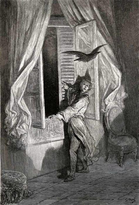 biography of edgar allan poe resumen gustave dor 233 s splendid illustrations of edgar allan poe s