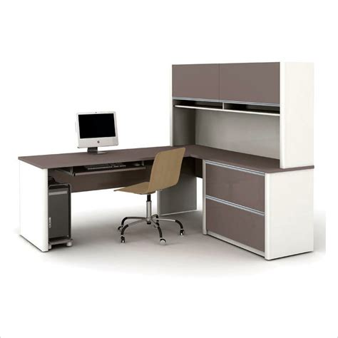really stylish small l shaped desk