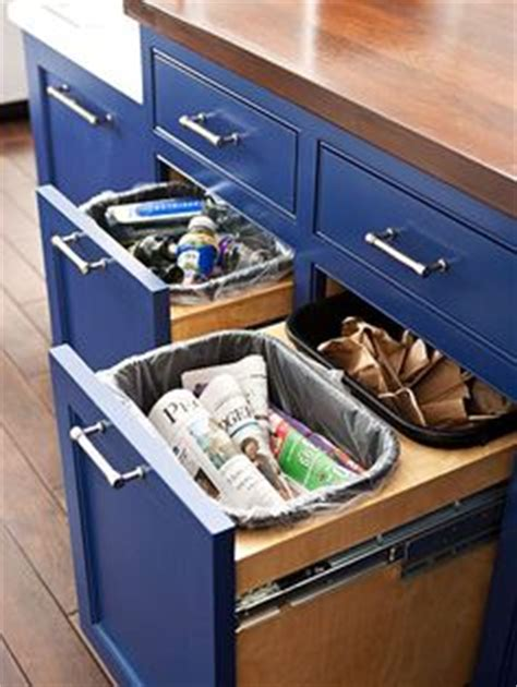 kitchen cabinets plastic coating how to build a pull out trash and recycling bin diy