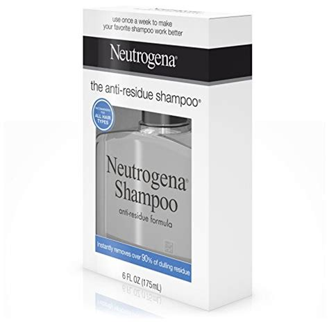 neutrogena anti residue shoo 6 oz walmart neutrogena anti residue shoo 6 fl oz import it all