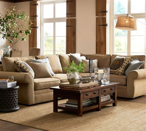 pottery barn living room furniture pottery barn