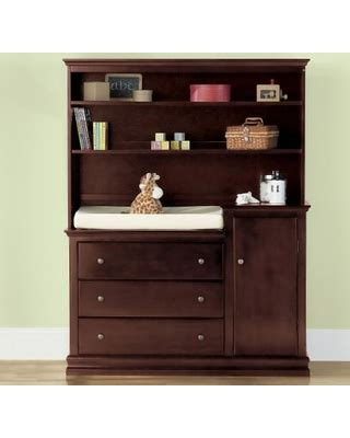 changing table with hutch great deals on savanna changing table or hutch espresso