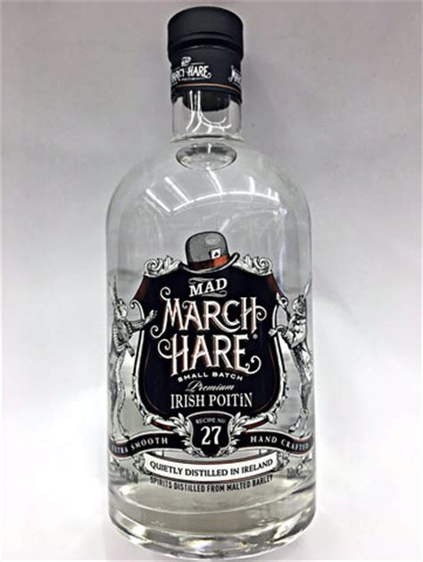 mad liquor mad march hare small batch poitin quality liquor store