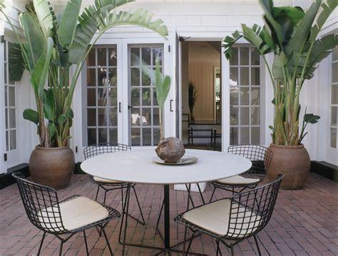potted plant ideas patio mediterranean with mediterranean