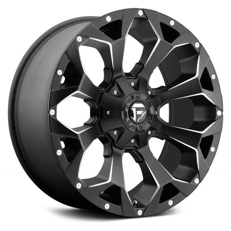 fuel wheels 22x10 fuel wheels 18 8x165 1 125 2 assault rims black