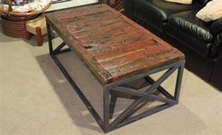 Reclaimed Barnwood Coffee Table A Reclaimed Barnwood Coffee Table