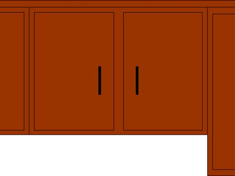 Cabinet Clipart by Kitchen Cabinet Clip 33