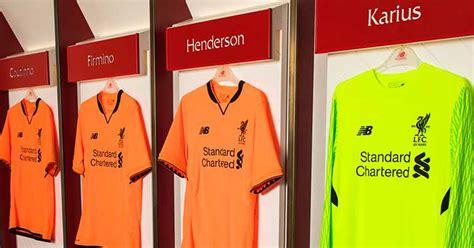 Liverpool 3rd 2017 2018 new balance liverpool third kit 2017 2018