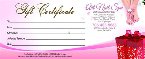template gift certificate template powerpoint of attendance