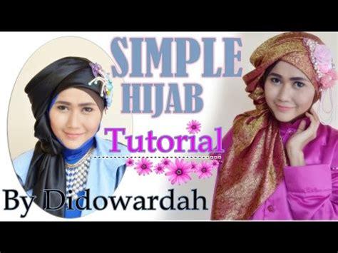 tutorial hijab segi empat by didowardah simple hijab tutorial segi empat by didowardah 62 youtube