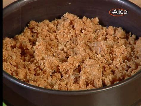 ricette di bianchessi pronto in tavola ricette tv cheese cake con salsa di cioccolato
