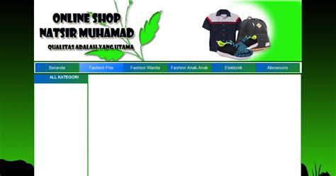 membuat toko online dengan css membuat layout toko online css sukabagiilmu php mysq