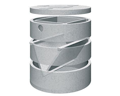 vasca imhoff cemento fosse biologiche canzian manufatti in cemento