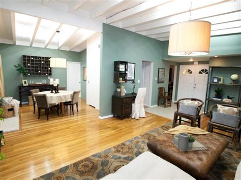Light Teal Living Room by Photo Page Hgtv
