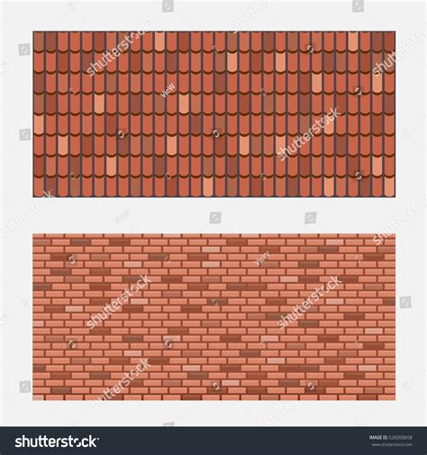 brick vector picture brick tile backsplash roof tiles brick wall texture vector stock vector