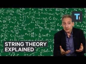 String Theory - the for string theory sixty symbols funnydog tv