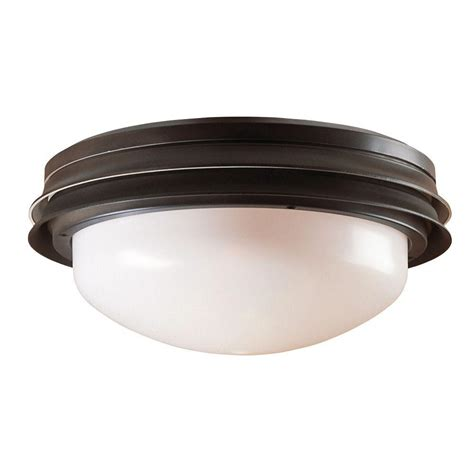 home depot outdoor ceiling fans with light hunter marine ii outdoor ceiling fan light kit 28547 the