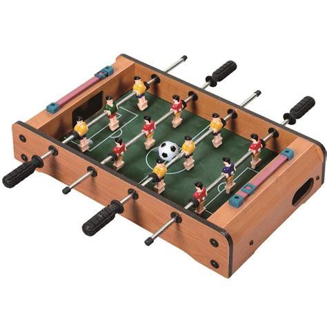 air soccer table top baby mini wooden table top football air hockey pool