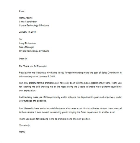 sle thank you letter for recommendation best template