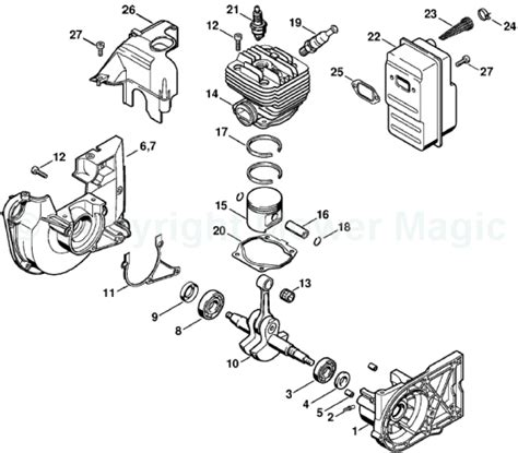 stihl ts400 parts diagram stihl ts460 parts diagram stihl 011 av parts diagram