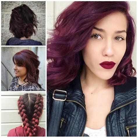 new colors for 2017 maroon hair colors for 2017 hairstyles 2018 new haircuts