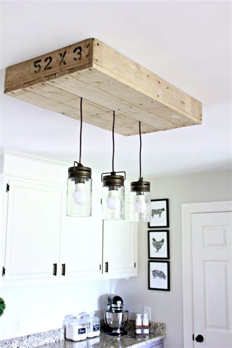 diy kitchen light fixtures 17 best ideas about farmhouse lighting on pinterest