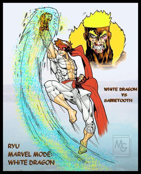 Kaos Wolverine Wolverine 01 Raglan kaos 5 ryu vs sabretooth by eksoz on deviantart