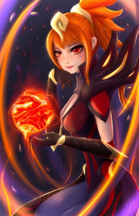 magma elementalist lux  marzellene  deviantart