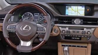 2017 lexus es 350 interior