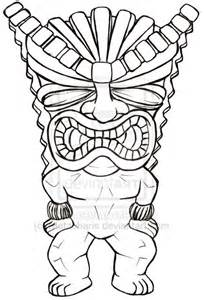 Moreover Hawaiian Luau Coloring Pages African Mask  sketch template